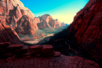 Journey to Angel's Landing, Zion