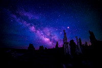 Milky Way over Mono Lake South Tufas