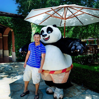 Kung fu Panda at Dreamworks Animation