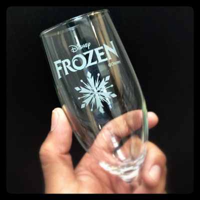 Frozen Oscar Toast Glass