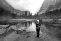 The Girl at Mirror Lake, Yosemite